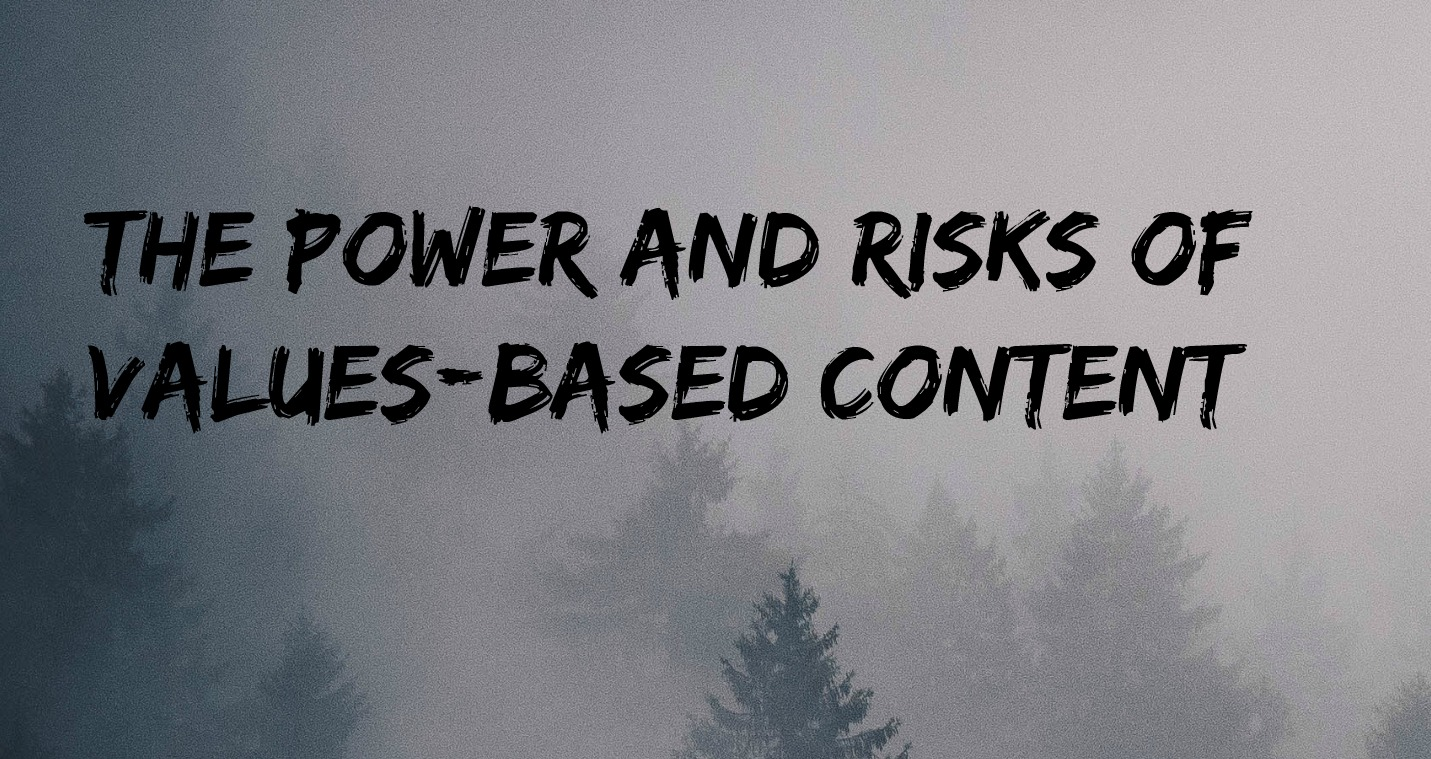 values-based content marketing