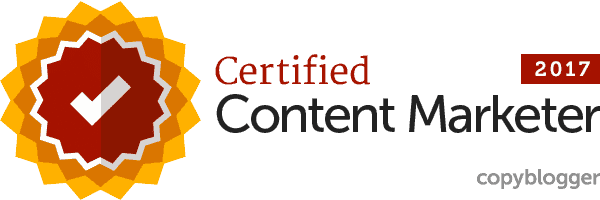 Copyblogger - certified content marketer