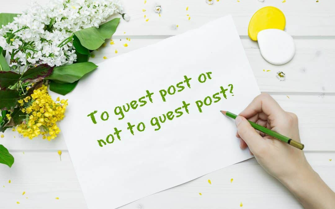 Content marketing: Should solopreneurs guest post?