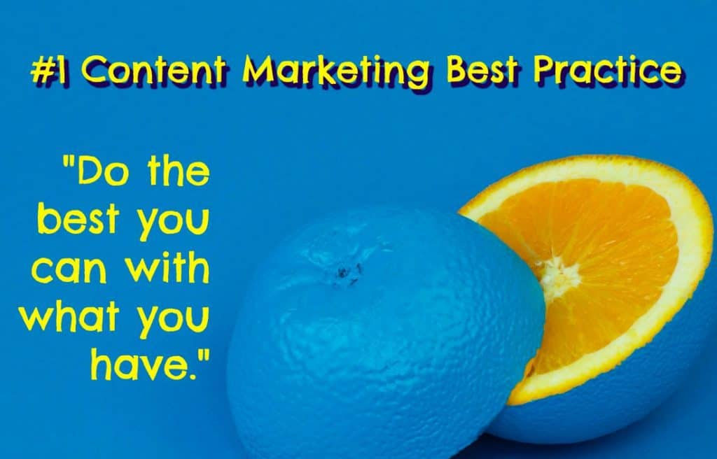 content marketing best practice